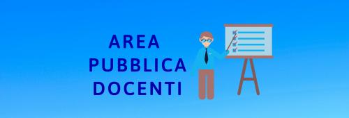Banner area pubblica docenti